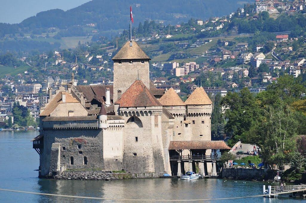Шильонский замок Швейцария