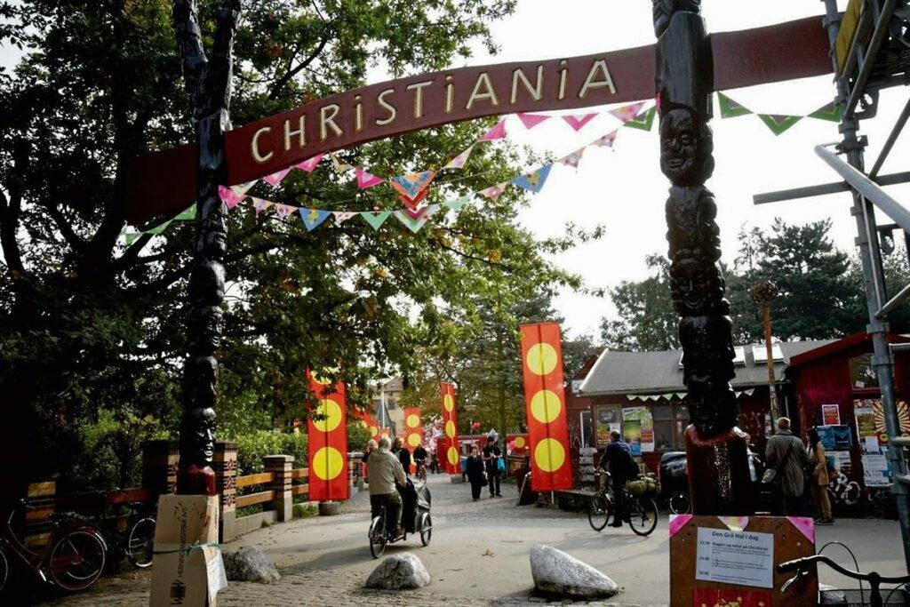 Христиания Копенгаген Дания