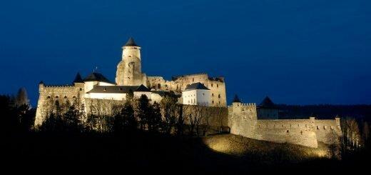 Крепость Стара Любовня Словакия