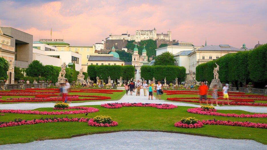 Дворец Мирабель Австрия