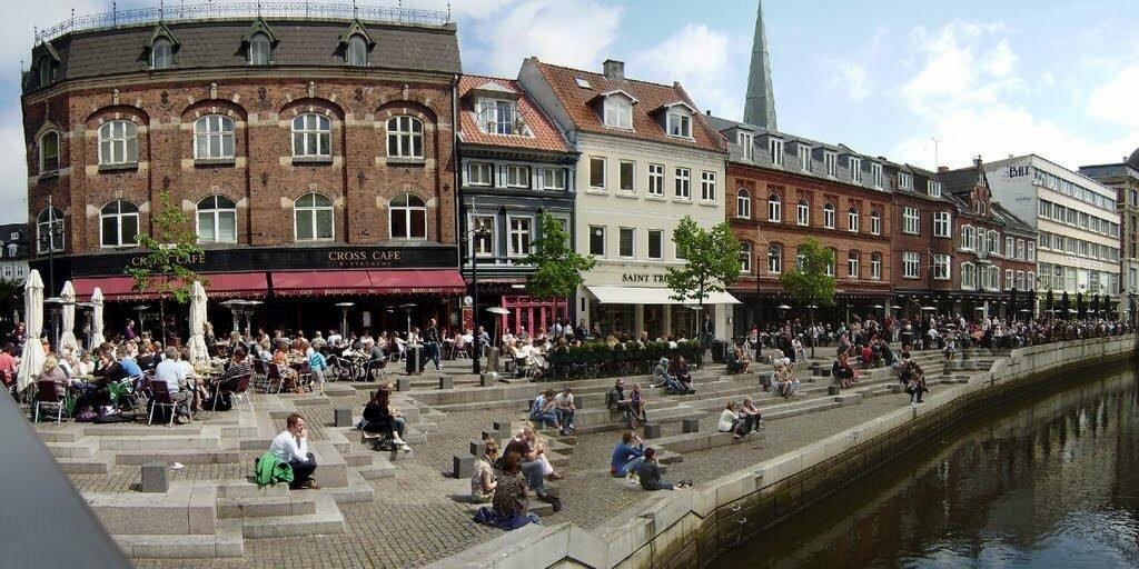 Старый Орхус Дания