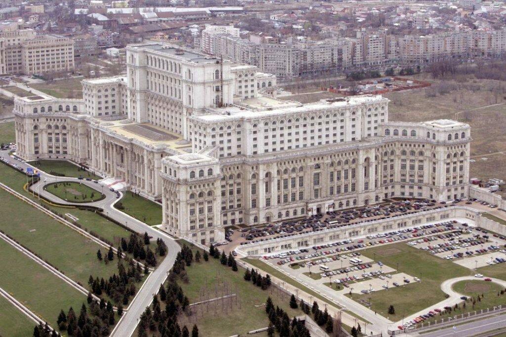 Дворец Парламента Бухарест Румыния