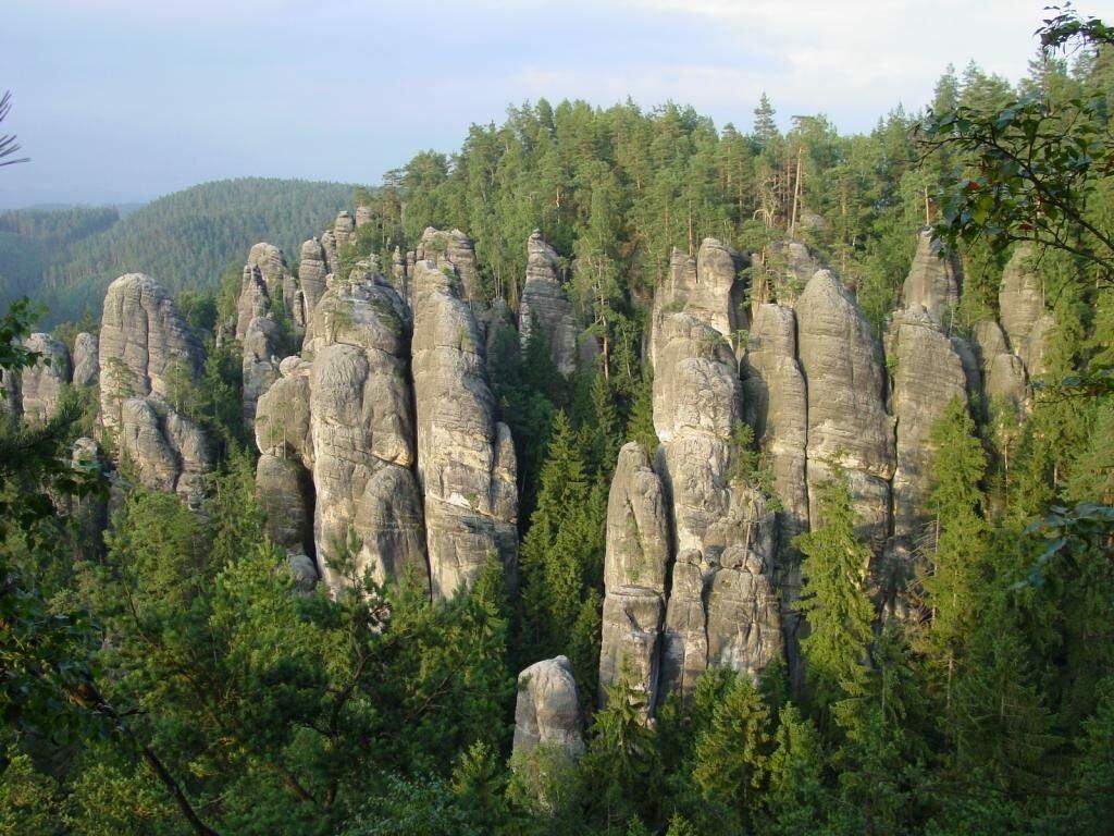 Праховские скалы Чехия