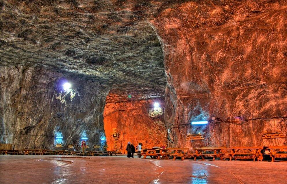 Соляная шахта Прайд Румыния