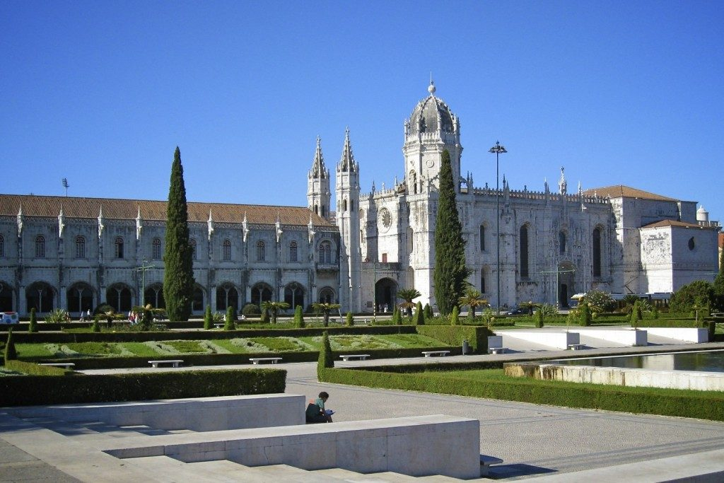Монастырь Жеронимуш Португалия