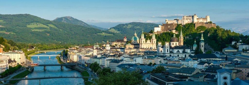 Старый город Зальцбурга Австрия
