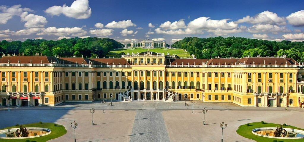 дворец Шенбрунн Австрия