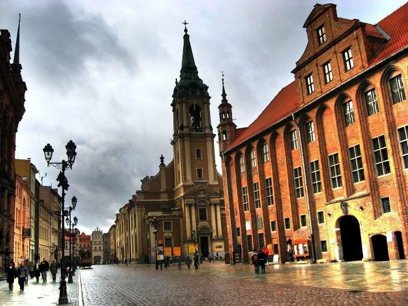 Торунь Польша