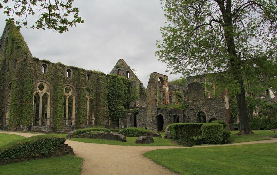 аббатство Villers la Ville Бельгия