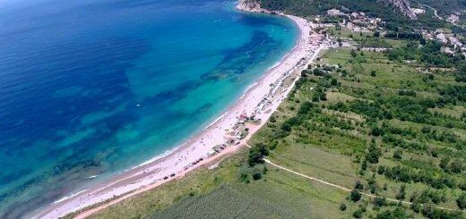 пляж Черногория