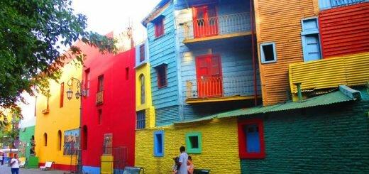 Буэнос-Айрес. Район Ла-Бока