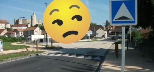 ограничитель скорость Франция