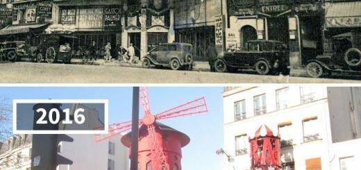 # 10 Мулен Руж, Париж, Франция, 1900 - 2016