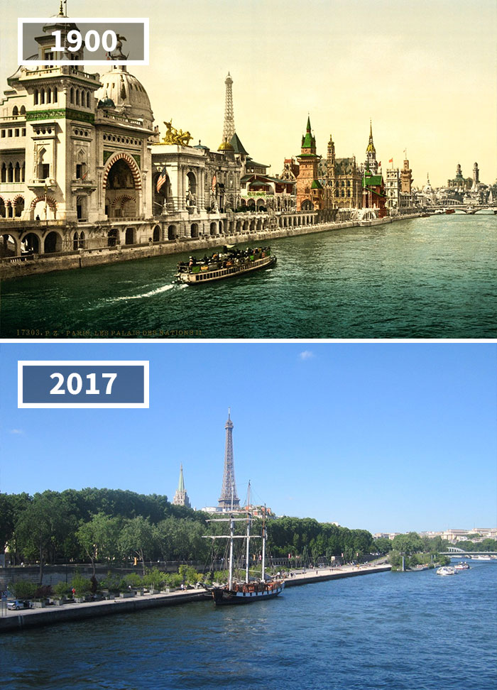 # 5 Quai Des Nations, Париж, Франция, 1900 - 2017