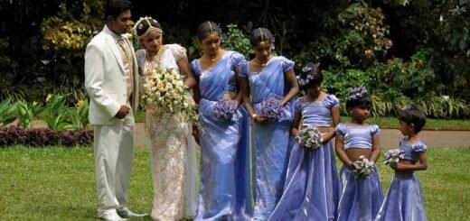 Традиционная свадьба на Шри-Ланке