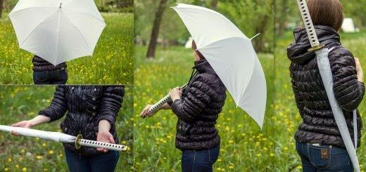 зонтик-катана